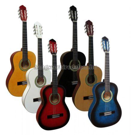 MSA 3/4 gitár tartozékokkal, több színben, 7-9 éves méret