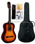 MSA napsárga klasszikus gitár sok kiegészítővel, C25