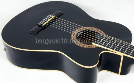 José Ribera Cutaway elektroakusztikus gitár, fekete