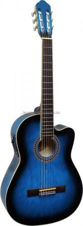 José Ribera Cutaway elektroakusztikus gitár, kék