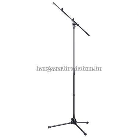 SMICS-120-BK - Háromlábú állítható gémes mikrofon állvány