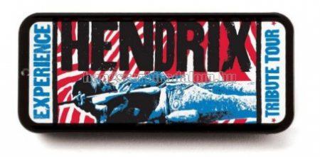 Jimi Hendrix fémdobozos pengető