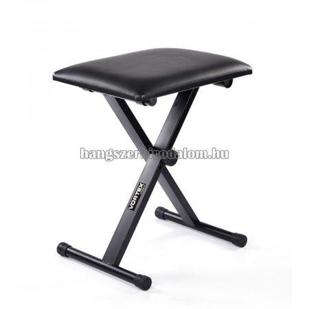 Fém billentyűs szék