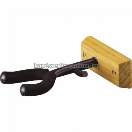 Soundsation hegedű  és brácsa falitartó fa talppal és vonótartóval