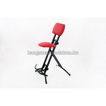 Euromusic E-Proszék, profi gitáros szék, piros