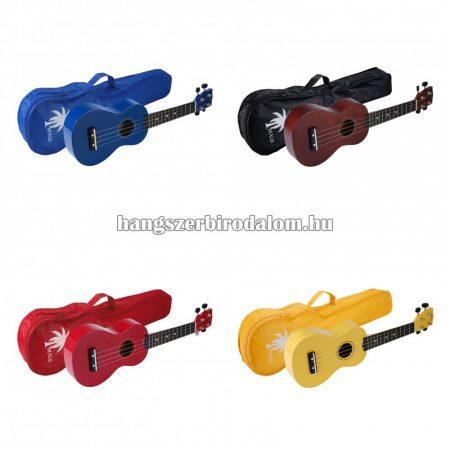 Soundsation MUK10- MAUI szoprán ukulele tokkal, több színben