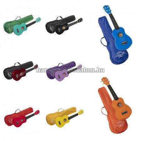Soundsation MAUI Sunny szoprán ukulele tokkal, több színben