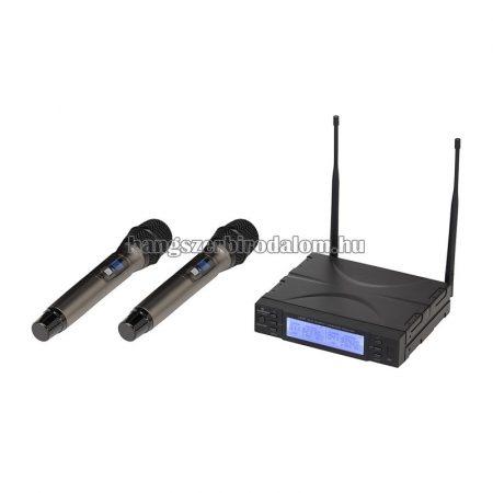 WF-U2300HH - UHF True Diversity Dual vezeték nélküli mikrofon rendszer