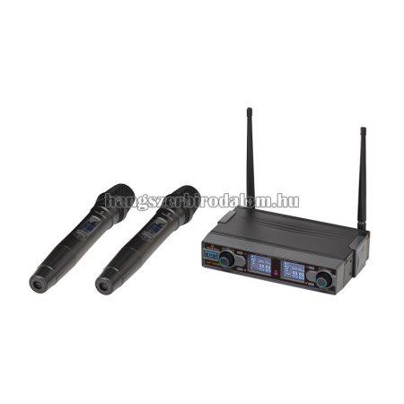 WF-D290HH - UHF Dual digitális vezeték nélküli mikrofonrendszer