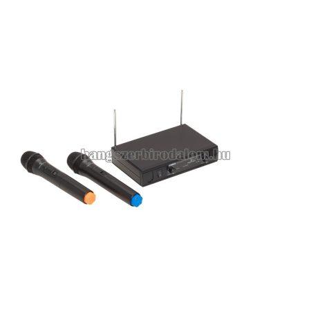 WF-V21HHA - Dual VHF Plug and Play vezetéknélküli mikrofonszett 2 kézi mikrofonnal (213.0 MHz - 215.5 MHz)