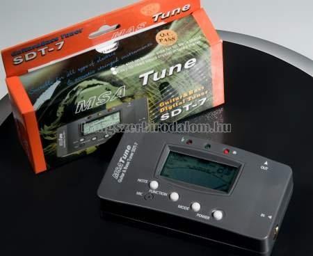 hangológép - digitális hangoló
