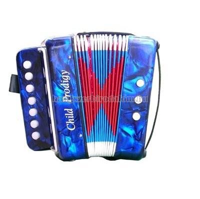 Soundsation mini gombos tangóharmónika, kék