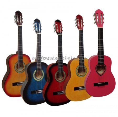 MSA 1/2 gitár több színben, 5-7 éves méret