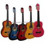 MSA 1/2 gitár tartozékokkal, több színben, 5-7 éves méret