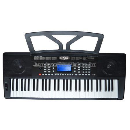 K4U - Szintetizátor 61 érintésérzékeny zongorabillentyűvel