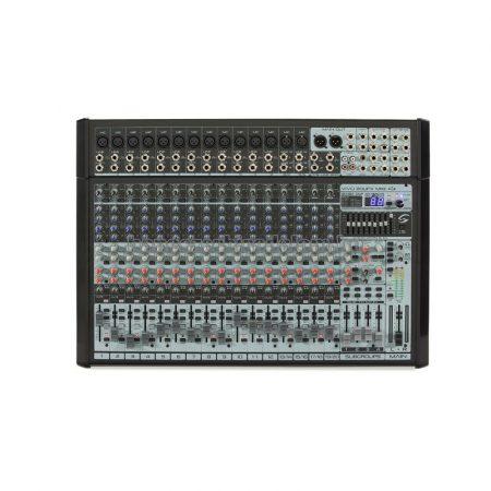 VIVO-20UFX MKII - 20 csatornás magas minőségű professzionális mixer, Ambient Pro® FX processzorral és USB I/O hangkártyával