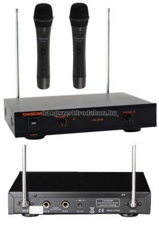 Takstar Karaoke szett 2 kézi mikrofonnal