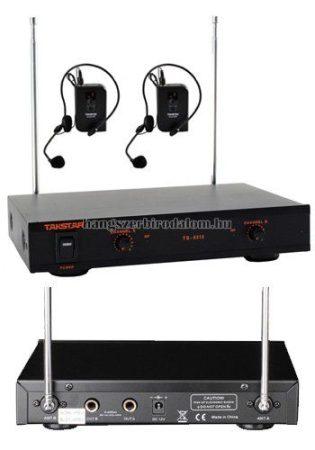 Takstar Karaoke szett 2 headszettel