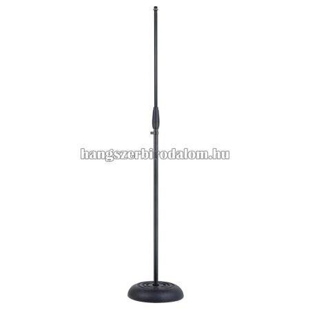 SMICS-500-BK - Mikrofon állvány nehéz öntött vas tönkkel
