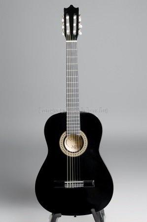 MSA fekete klasszikus gitár C21