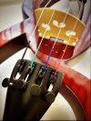 MSA elektromos hegedű több színben