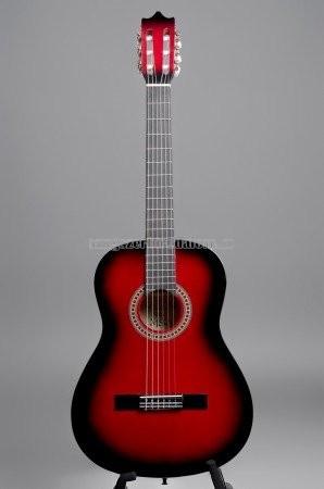 MSA piros klasszikus gitár C24