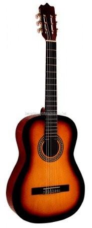 MSA napsárga klasszikus gitár C25