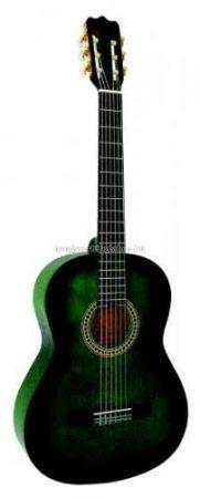 MSA zöld klasszikus gitár C27