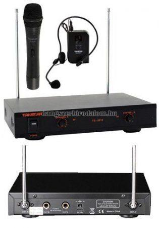 Takstar Karaoke szett kézi mikrofonnal és headszettel
