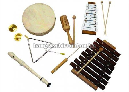 Orff 8 darabos ritmuskészlet
