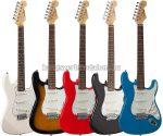 Soundsation Rider elektromos gitár több színben