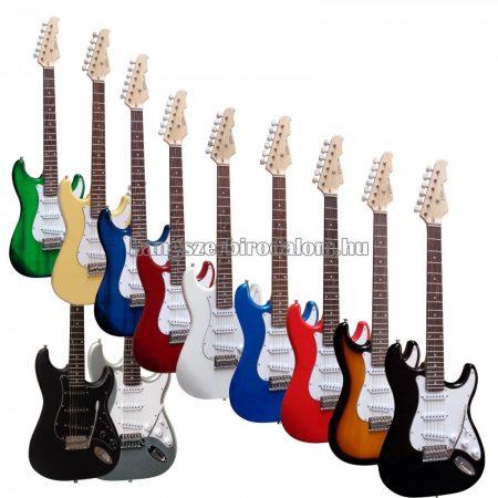 Vision elektromos gitár több színben