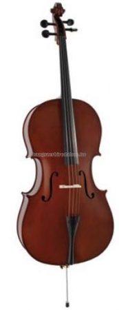 Soundsation Virtuoso Primo cselló tokkal, vonóval, több méretben
