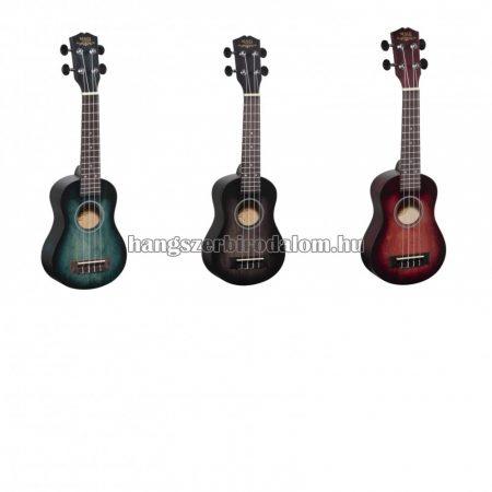 Soundsation MAUI szoprán ukulele tokkal, több színben