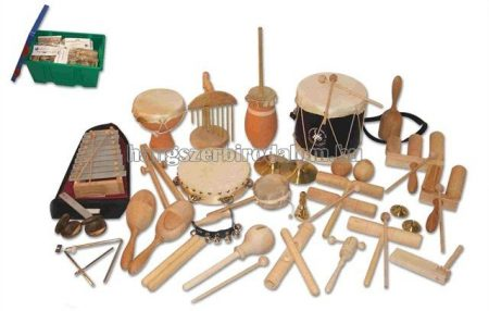 29 darabos óvodai ritmuskészlet