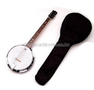 MSA 5 húros bendzsó ajándék tokkal és szájharmónikával